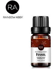 RAINBOW ABBY Ätherisches ÖL - 100% Reines, Ätherisches ÖL Der Besten Organischen Therapeutischen Qualität - 10ML, NEW 12