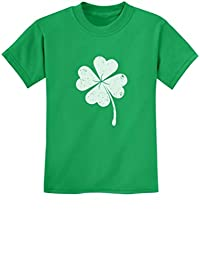 Tstars - St. Patricks Day Lucky Charm Clover Youth Kids T-Shirt