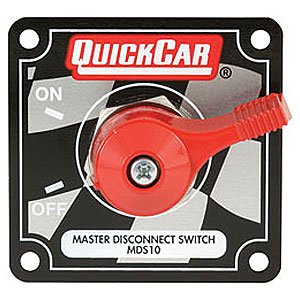 QuickCar Racing Products 55-012 Red 2-1/2