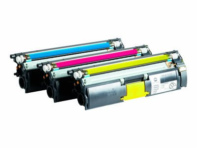 Konica Minolta A06VJ33 Toner Value Kit - ( 120 V ) - 3-pack - High Capacity - yellow, cyan, magenta - original - toner cartridge - for magicolor 5550, 5570, 5650, 5670 (Toner 5570 Yellow)