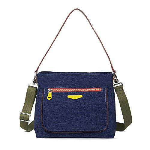 Kipling Women's Kaeon Rebellion Crossbody Bag One Size Blue by Kipling