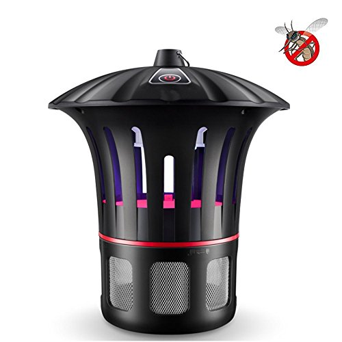 Janolia Bug Zapper Light, Smart LED UV Mosquito Killer Light Trap Lamp Flies Repellent Catcher, Harmless Non Toxic & Quiet, Great for Home Aisle Office Restaurant