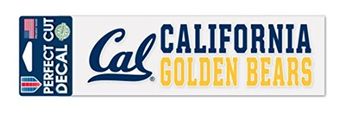 Wincraft NCAA California Golden Bears 3 x 10 inch Perfect Cut Decal]()