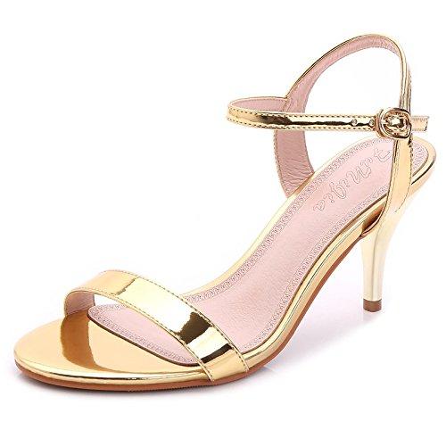 Et Des Femme De Faible Coût L'amende La Shoeshaoge Avec Permettant Eu38 Shoes heel Sandales L'high Minimaliste Style Fentes Un axW7qXCwz
