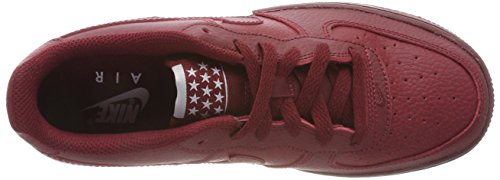 Unisex Bambini team team white Rosso Air Force Nike gs 627 1 – Red Sneaker Red XRwPOW