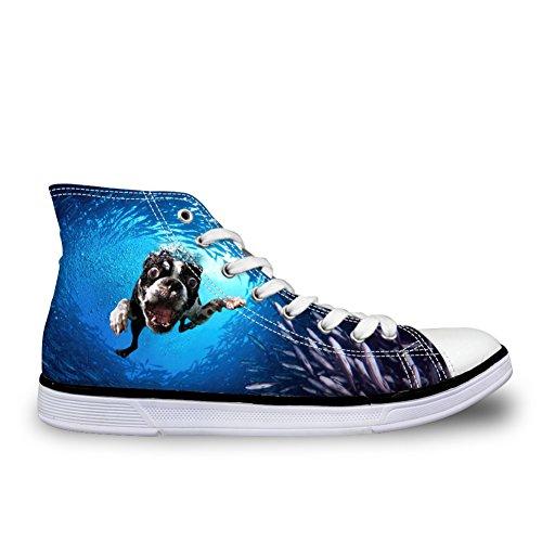 Showudesigns , Damen Sneaker blau blau color 3