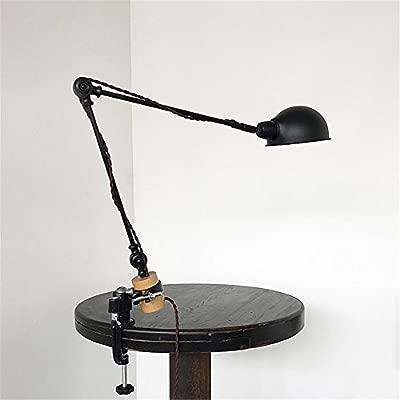 Lámpara de Mesa Clip en lámpara de mesa de luz LOFT estilo ...