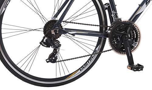 466801842d8 Schwinn Volare 1200 Road Bike, 700c/28 inch wheel size, Grey Gray,