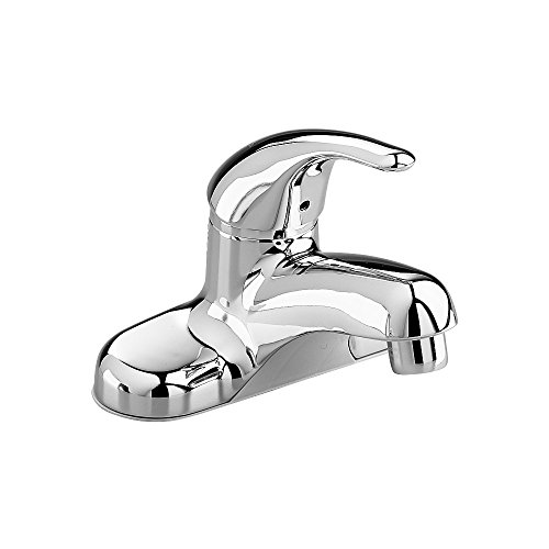 Chrome Colony Soft Single (American Standard 2175.506.002 Colony Soft Single Metal Lever Centerset Lavatory Faucet with Grid Drain, Polished Chrome)
