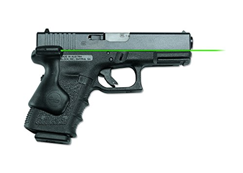 Crimson Trace LG-639G Lasergrips Green Laser Sight Grips for GLOCK Compact Pistols 19, 23 etc.