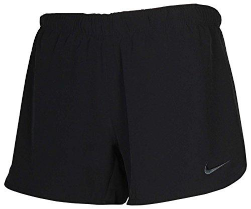 Nike Women's Dri-Fit Phantom 2-In-1 Training Shorts-Black-Large (Ladies Shorts Training)