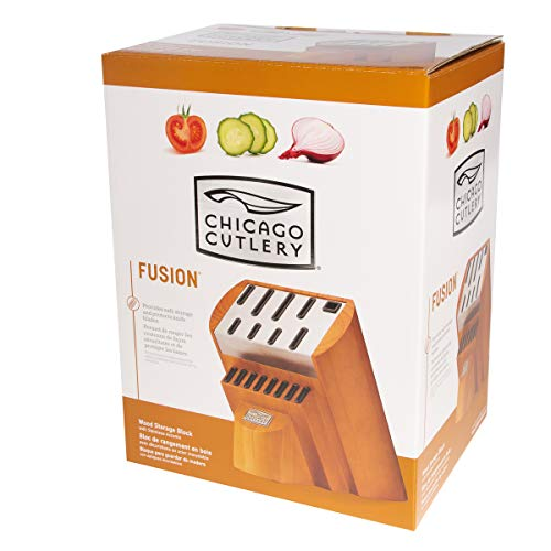 Chicago Cutlery Knife Block Without Knives 17 Slot Cutlery Organizer by Chicago Cutlery (Image #4)