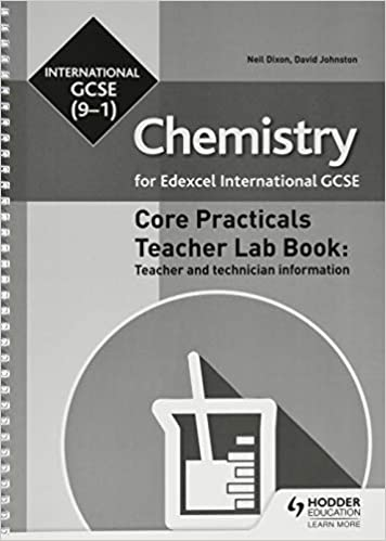 Edexcel International GCSE Chemistry Lab Teacher Book