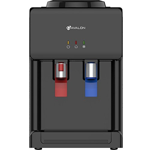Avalon Premium Hot/Cold Top Loading Countertop Water Cooler Dispenser With Child Safety Lock. UL/Energy Star Approved- Black by Avalon (Image #2)