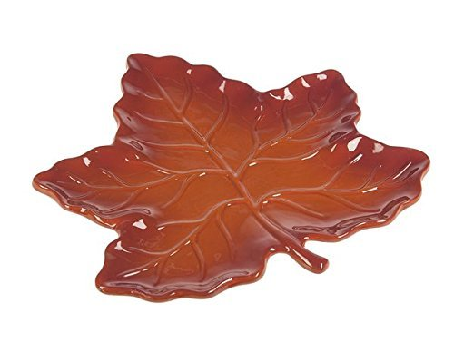 GANZ Fall Table Top - Leaf Platter