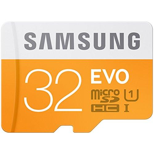 Samsung Evo MB MP32D 32 GB UHS I Class 10 Plus MicroSDHC Memory Card