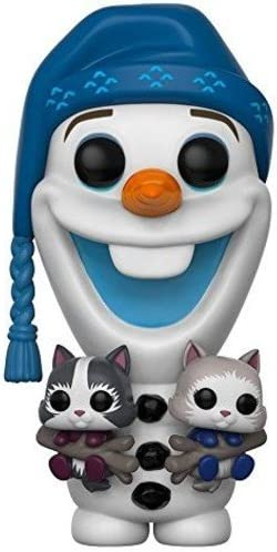 Amazon.com: Funko POP Disney Frozen Olaf con gatos ...