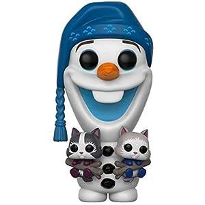 Funko Pop Disney: Olaf's Frozen Advenutre – Olaf with Cats Collectible Vinyl Figure,Multi