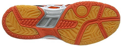 ASICS Gel-Rocket 7 - Zapatillas de deporte para hombre Rojo (Cherry Tomato/White/Black 2101)