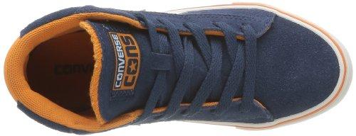 CONVERSE Pro Lea Vul Mid 290100-31-103 Unisex - Kinder Sneaker Blau (Marine/Orange)