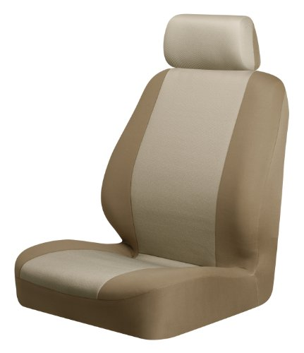 Braxton Low Back Seat Cover, Tan - Pack of 2