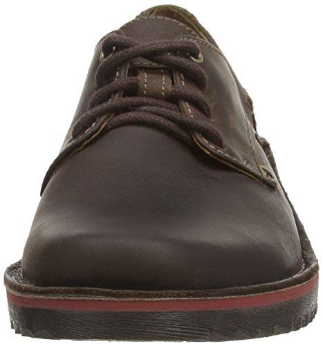 Clarks Remsen Limit - Zapato brogue de cuero hombre Marrón (Dark Brown Lea)