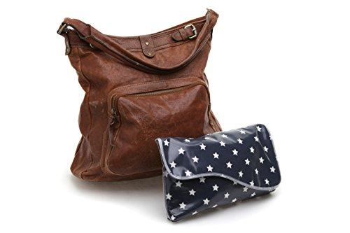 Messy Me Mini bolso cambiador y alfombrilla–muy compacto, ideal para caber en un bolso de mano o en un Carrito azul azul marino clásico azul marino clásico