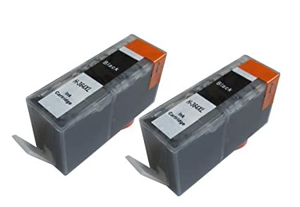 Now Ink HP 364 XL - Juego de 2 cartuchos de tinta para Deskjet 3070A, 3520 OFFICEJET 4610, 4620, 4622 PHOTOSMART: B8550, B8553, B8558, C5324, etc. ...