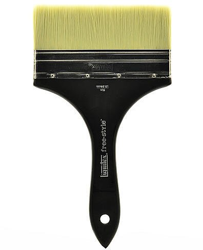 Brush Varnish Flat (Liquitex Free-Style Large Scale Brushes (Broad Flat/Varnish) - 6 In. 1 pcs sku# 1832785MA)