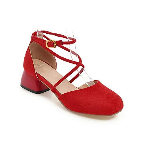 Zeppa red Con An Donna Rosso 35 Sandali Diu01250 wYtxnrtf