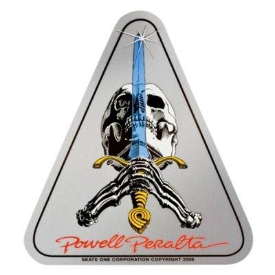 board Sticker - Skull & Sword - Official Reissue Old School ()