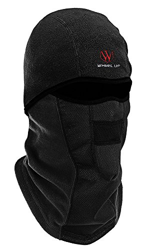 StillCool Balaclava Mask Ski Face Mask Windproof Balaclava Cold Winter Face Maske For BILKING, Motorcycling, Skiing Winter Sports Outdoor Face Cover Full Face Mask Hat (Black) (Diamond Tactical Full Face Protection Ghost Balaclava Mask)