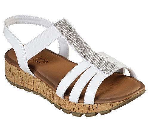 Skechers Footsteps Loyalties Womens Sandals White 8