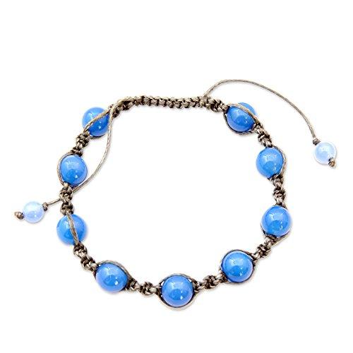 Novica Chalcedony Bracelets - 9