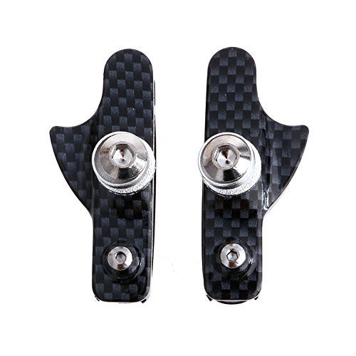 Stebcece 1Pair Bicycle Bike Cycling MTB Road V Brake Pads Holder Rubber Blocks C Clam New (New Tektro Mtb Bike)