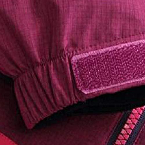 Slim Imperméable En Top Montagne Poche vent Femme Et Pour Éclair Coupe Escalade Purple Chaude Veste Fermeture Coupe w64qP61xE