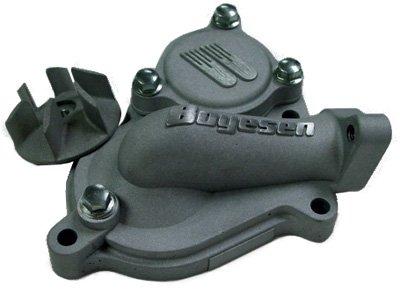 Boyesen Hy-Flow Black Water Pump Cover & Impeller Kit for 2004-2013 Kawasaki KX - One Size (Cover Pump Hy Water Flow)