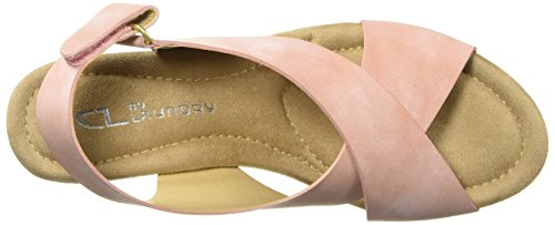 Laundry Peach Dream by Women 's Nubuck Wedge Girl Chinese Sandal CL xEzwUR