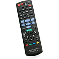 N2QAYB000719 Replacement Remote Control fit for Panasonic Blu-ray Disc DVD Player DMP-BDT220 DMP-BDT120 DMP-BDT220CP DMPBDT220 DMPBDT120 DMPBDT220CP