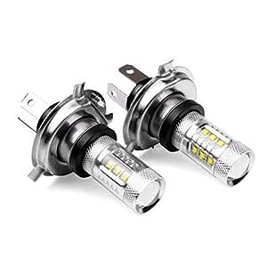 Femitu 2PC x 80W 12V For Xenon White H4 9003 HB2 CREE LED Fog Lamp Bulb Beam Headlight Driving by Femitu
