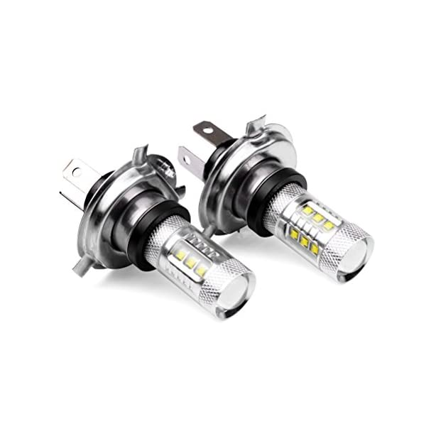 Femitu 2PC X 80W 12V Xenon White H4 9003 HB2 CREE LED Fog Lamp Bulb Beam Headlight Driving By Femitu