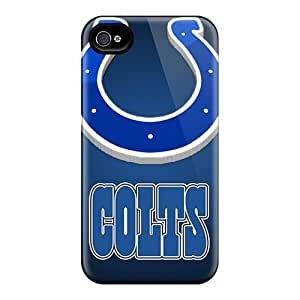 ColtonMorrill Iphone 4/4s Perfect Cell-phone Hard Covers Unique Design Vivid Indianapolis Colts Pattern [NEs15083HTyV]