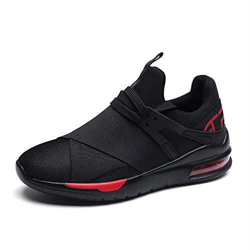 Men's Shoes Feifei Spring and Autumn Fashion Wear-Resistant Breathable Running Shoes 3 Colors (Color : 01, Size : EU40/UK7/CN41)