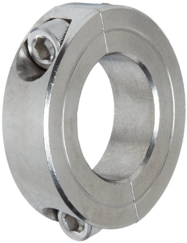 S T303 Stainless Steel Two-Piece Clamping Collar, 3/4