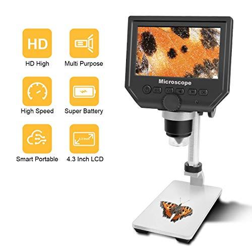 600X LCD Digital Microscope with 4.3