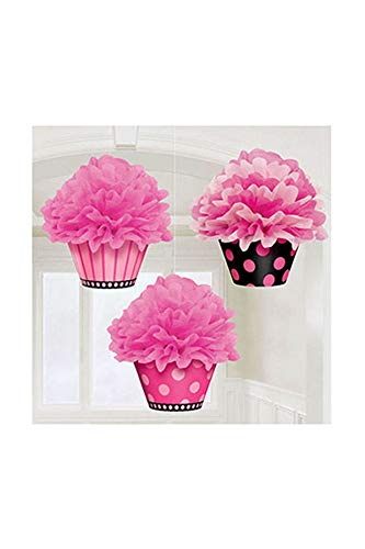 Cupcake Fluffy Decorations | Another Year of Fabulous Collection | Party Accessory