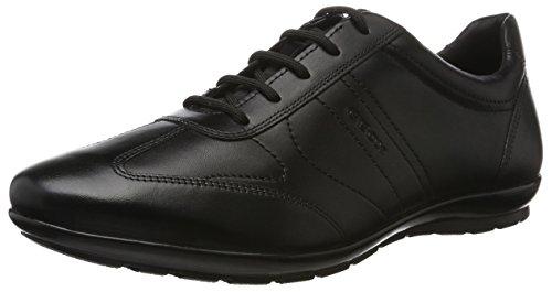 Geox Men's Symbol 19 Oxford, Black, 41.5 M EU (8.5 US)