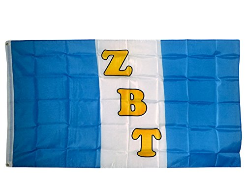 Zbt Band - Desert Cactus Zeta Beta Tau ZBT Chapter Fraternity Flag 3 x 5 Polyester Use as a Banner Sign Decor