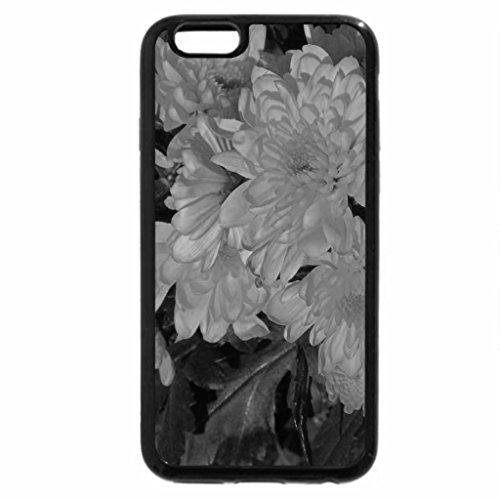 iPhone 6S Plus Case, iPhone 6 Plus Case (Black & White) - Lemon Yellow Blooms