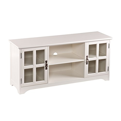 Southern Enterprises Remington TV/Media Stand – White